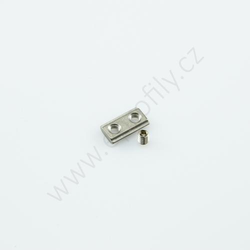 Kámen do drážky se závitovým kolíkem , 3842536673, N6 M4, Balení (100ks)