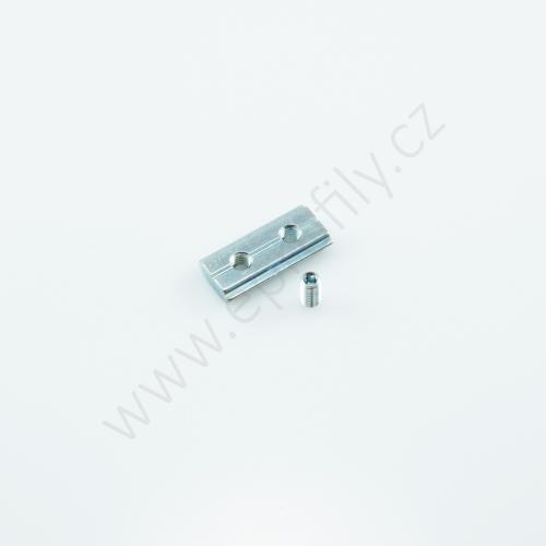 Kámen do drážky se závitovým kolíkem, 3842536676, N10 M5, Balení (100ks)