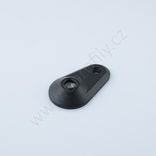 Podložka pozinkovaná, oválná, šroubovací otvor, 3842538679, D59, (1ks)