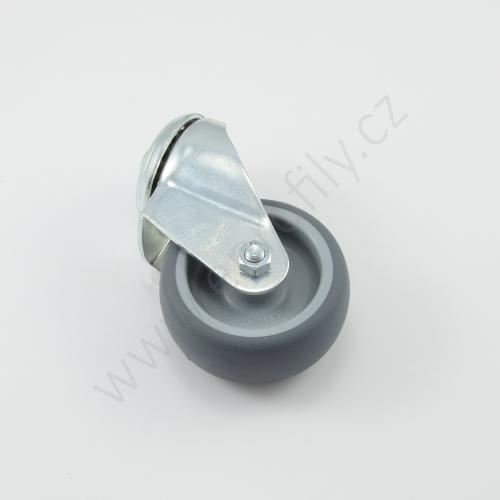 Kolečko otočné bez brzdy, 3842541234, D80, (1ks)