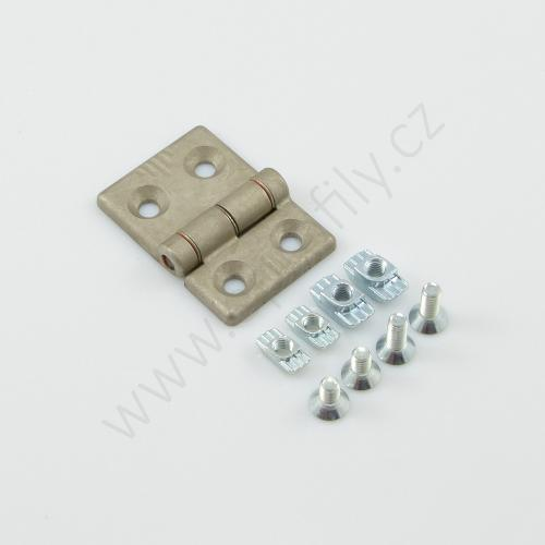 Hliníkový pant, ESD, 3842544528, 30x40, Balení (2ks)