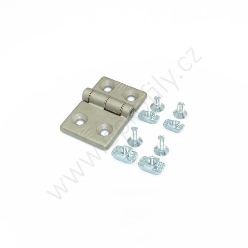 Hliníkový pant, ESD, 3842544529, 30x45, Balení (2ks)