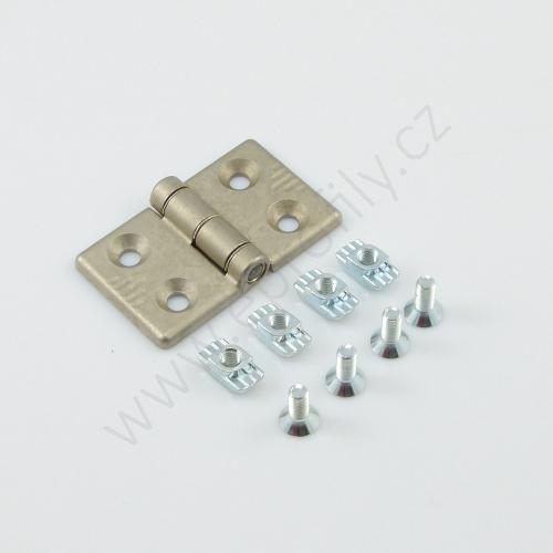 Hliníkový pant, ESD, 3842544530, 40x40, Balení (2ks)