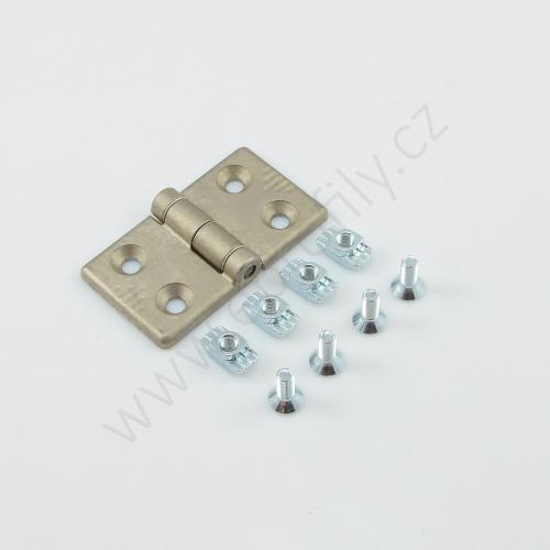 Hliníkový pant, ESD, 3842544531, 45x45, Balení (2ks)