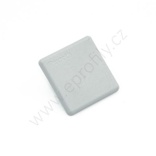 Krytka konce profilu šedá plast, 3842548744, 30x30, (1ks)