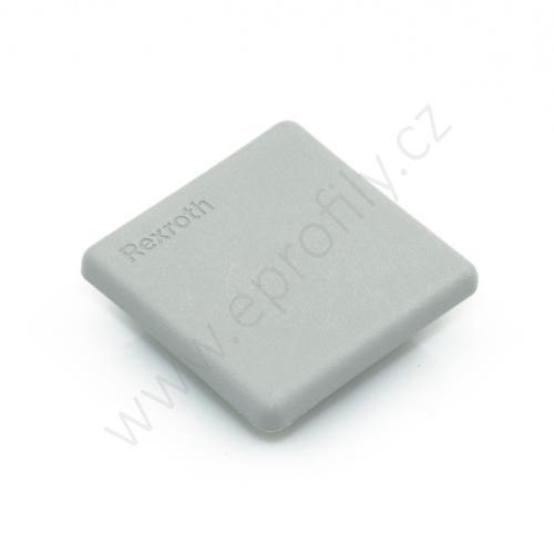 Krytka konce profilu šedá plast, 3842548746, 40x40, Balení (100ks)