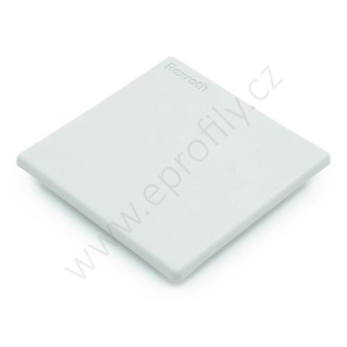 Krytka konce profilu šedá plast, 3842548750, 80x80, (1ks)