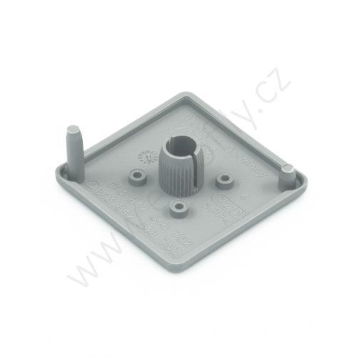 Krytka konce profilu šedá plast, 3842548752, 45x45, Balení (100ks)