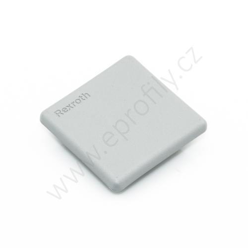 Krytka konce profilu šedá plast, 3842548752, 45x45, (1ks)