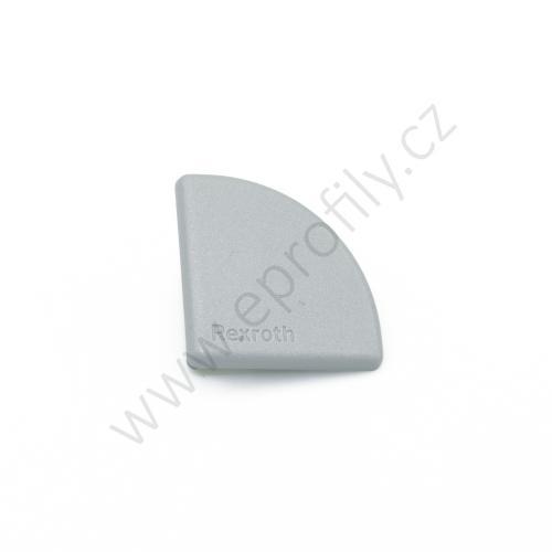 Krytka konce profilu šedá plast, 3842548776, 30x30R, Balení (20ks)