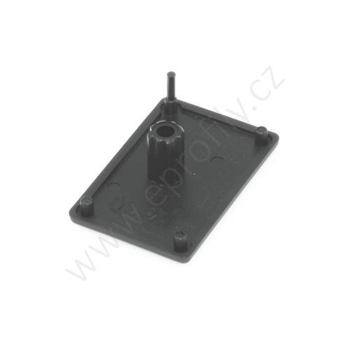 Krytka konce profilu černá plast, ESD, 3842548779, 30x45, (1ks)