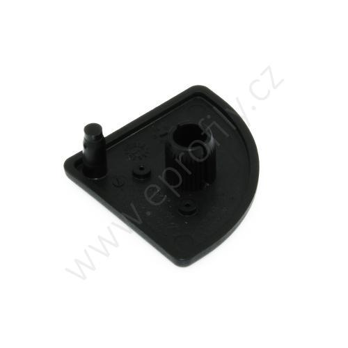 Krytka konce profilu černá plast, ESD, 3842548785, 40x40R, (1ks)