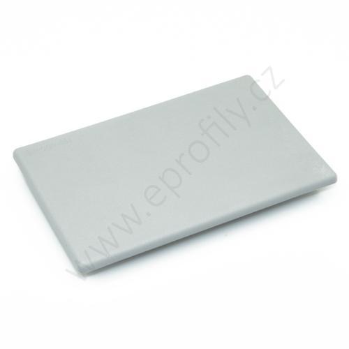 Krytka konce profilu šedá plast, 3842548792, 80x120, (1ks)