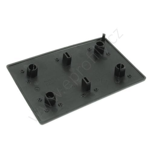 Krytka konce profilu černá plast, ESD, 3842548793, 80x120, Balení (20ks)