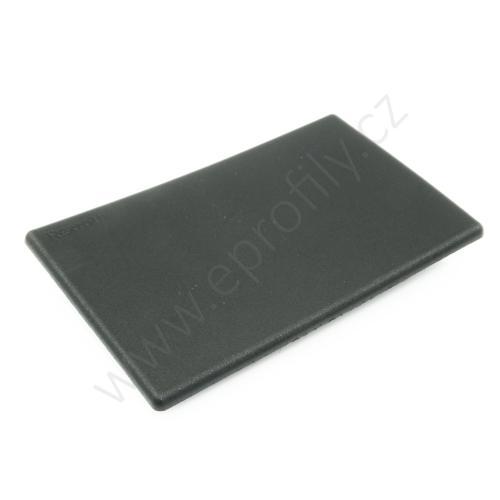Krytka konce profilu černá plast, ESD, 3842548793, 80x120, (1ks)