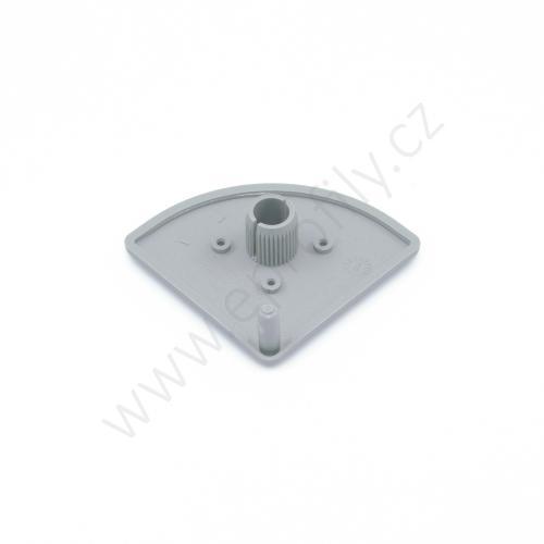 Krytka konce profilu šedá plast, 3842548800, 45x45R, Balení (20ks)
