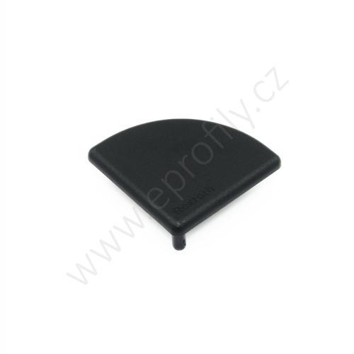 Krytka konce profilu černá plast, ESD, 3842548801, 45x45R, Balení (20ks)