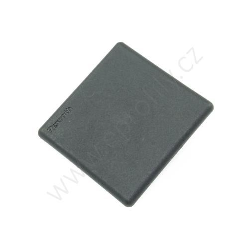 Krytka konce profilu černá plast, ESD, 3842548809, 60x60, (1ks)