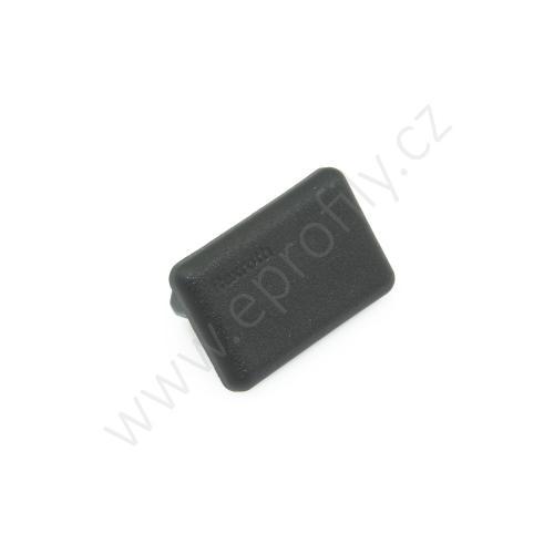 Krytka konce profilu černá plast, 3842548817, 15x22,5, (1ks)