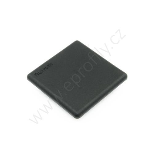 Krytka konce profilu černá plast, ESD, 3842548821, 50x50, Balení (20ks)