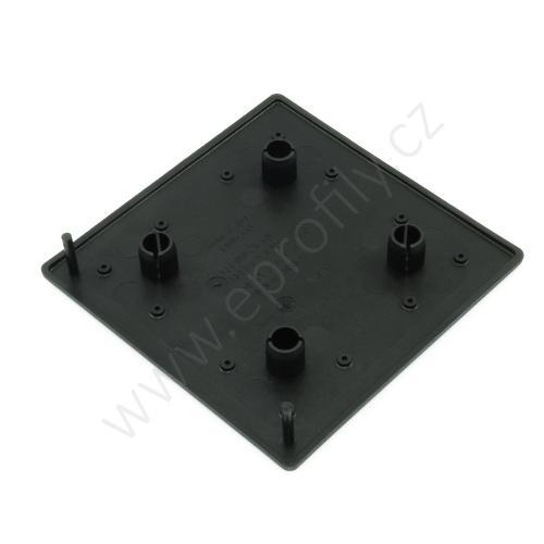 Krytka konce profilu černá plast, ESD, 3842548825, 100x100, (1ks)
