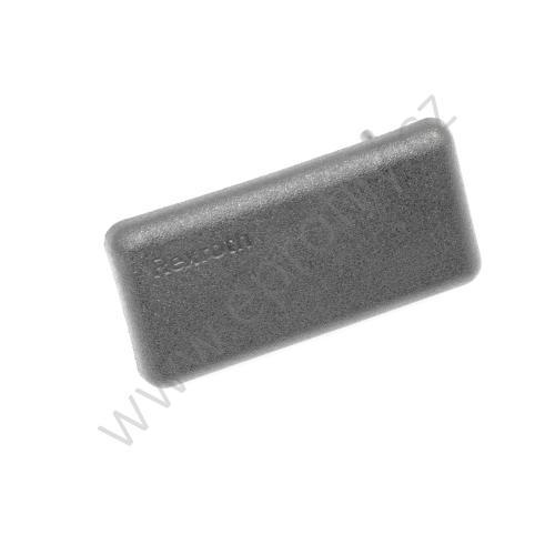 Krytka konce profilu černá plast, ESD, 3842548831, 22,5x45, Balení (20ks)