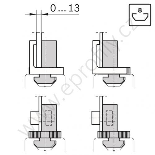 Variofix blok, 3842548832, N8, (1ks)
