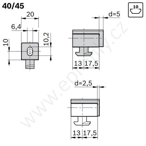 Variofix blok S, 3842548840, N10, (1ks)