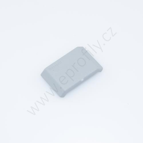Krytka úhelníku - šedá, 3842548842, 20x20, (1ks)