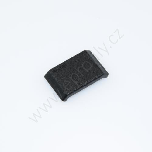 Krytka úhelníku - černá, ESD, 3842548843, 20x20, (1ks)