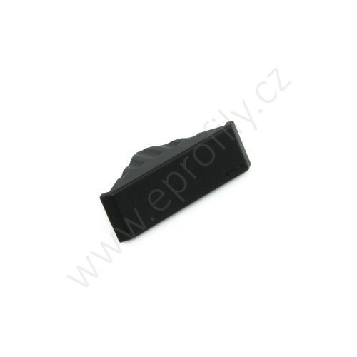 Krytka úhelníku - černá, ESD, 3842548845, 20x40, (1ks)