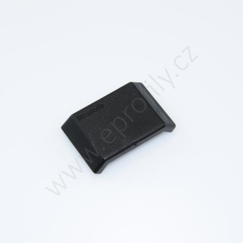 Krytka úhelníku - černá, ESD, 3842548847, 30x30, (1ks)