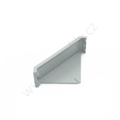 Krytka úhelníku - šedá, 3842548848, 30x60, (1ks)