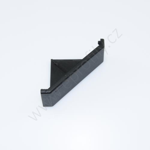 Krytka úhelníku - černá, ESD, 3842548849, 30x60, (1ks)