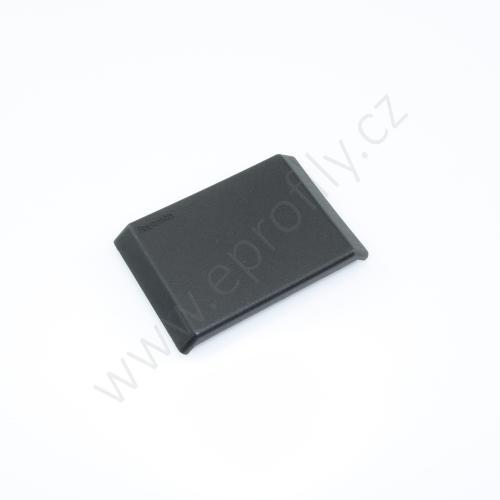 Krytka úhelníku - černá, ESD, 3842548853, 60x60, (1ks)