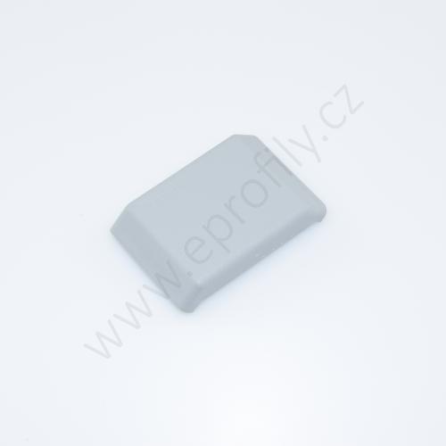Krytka úhelníku - šedá, 3842548854, 40x40, (1ks)