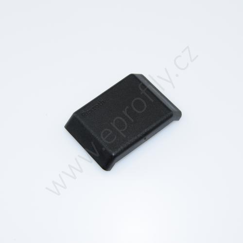 Krytka úhelníku - černá, ESD, 3842548855, 40x40, (1ks)