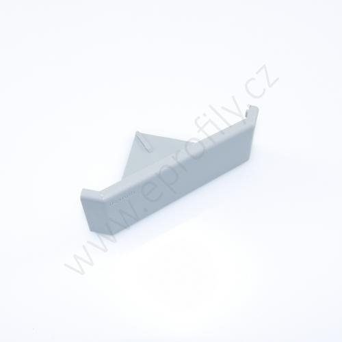 Krytka úhelníku - šedá, 3842548856, 40x80, (1ks)