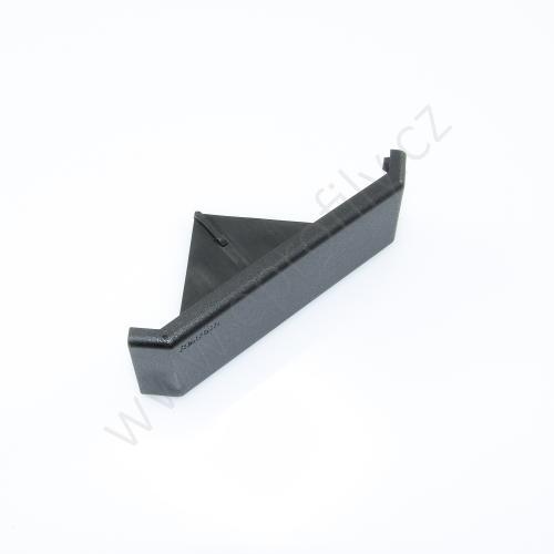 Krytka úhelníku - černá, ESD, 3842548857, 40x80, (1ks)