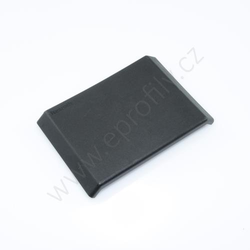 Krytka úhelníku - černá, ESD, 3842548861, 80x80, (1ks)