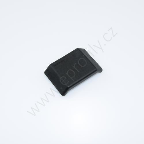 Krytka úhelníku - černá, ESD, 3842548863, 45x45, (1ks)