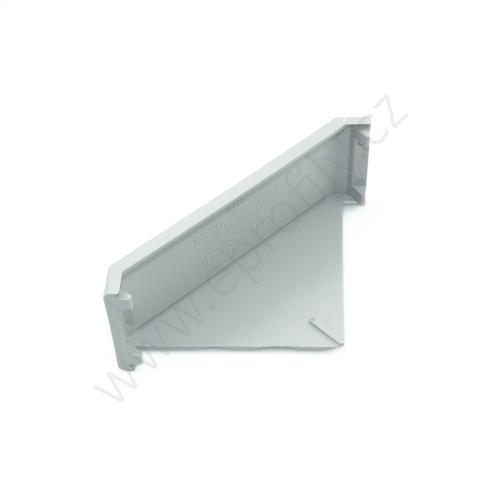 Krytka úhelníku - šedá, 3842548864, 45x90, (1ks)