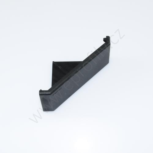 Krytka úhelníku - černá, ESD, 3842548865, 45x90, (1ks)