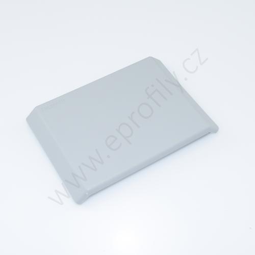 Krytka úhelníku - šedá, 3842548868, 90x90, (1ks)