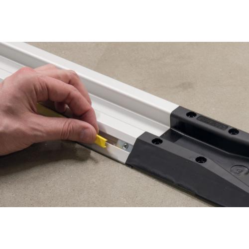 FiFo monorail krycí lišta drážky - černá, ESD, 3842548879 N8, 2000 mm, (1ks)