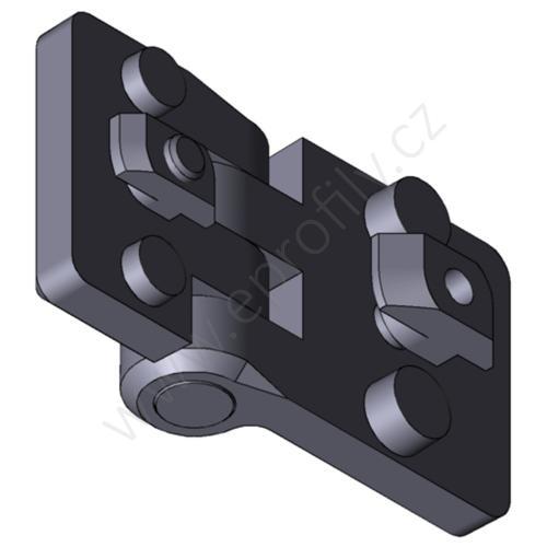 Plastový pant, 3842554462, 30x45, Balení (2ks)
