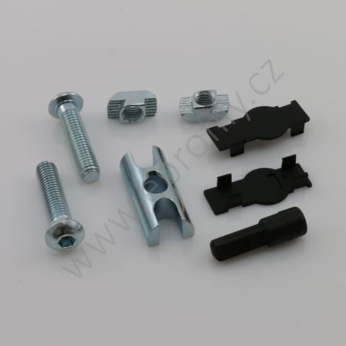 Svorníková spojka, ESD, 3842555594, D17x40 N10/N10, Balení (10ks)