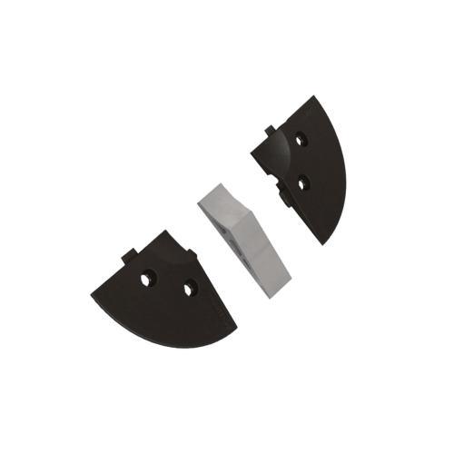 Blok parkovací mezikus do koncovky - šířka 40 mm, PAB-ZW4,  11x77x40, (2ks)